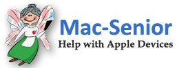 Mac - Senior helps seniors with Apple devices